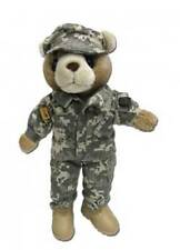 "U. S. ARMY COMBAT UNIFORM FEMALE TEDDY  BEAR (12"" TALL)"