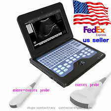 US Digital Portable Laptop B-ultrasound Scanner Machine With Convex,Micro convex