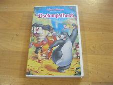 VHS Video Kassette Walt Disney Das Dschungelbuch Tape