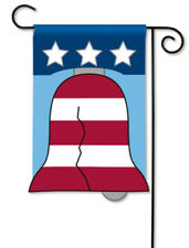 BreezeArt Breeze Art Liberty Bell Applique Garden Mini Flag