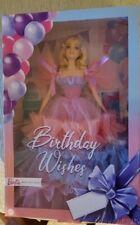 2021 Birthday Wishes Barbie Doll Gtj85 In Stock Now!