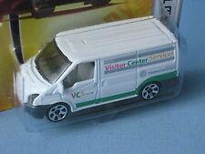 Matchbox Ford Transit Van White Visitor Center Toy Model Car 70mm