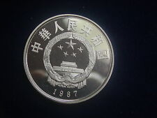 5 Yuan 1987 -China  Poet Li Bai W/15/554
