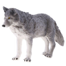Lifelike Wolf Animal Model Figurine Action Figures Kid Playset Toy