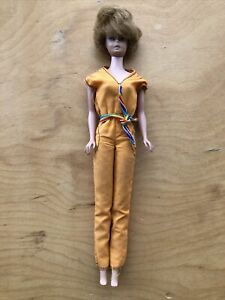 Vintage 1962/1958 Midge Barbie Strawberry Blonde Red Bubble Cut Doll Mattel