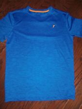 NWOT OLD NAVY BLUE SS ACTIVE TEE: SIZE: L 10/12