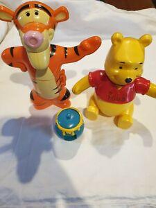 Winnie The Pooh Tigger Mcdonalds Full Set Build Toys 2005