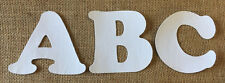 White Iron On Letters & Numbers - Back to School