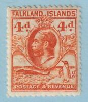 FALKLAND ISLANDS 58  MINT LIGHTLY HINGED OG *  NO FAULTS EXTRA FINE!