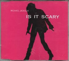 "MICHAEL JACKSON - RARO CDs PROMO "" IS IT SCARY (RADIO EDIT) """