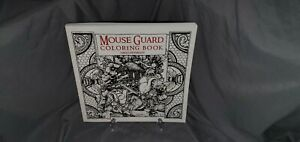 MOUSE GUARD: COLORING BOOK By David Petersen