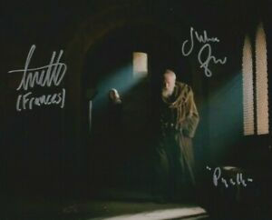 SALE!  Julian Glover, Annette Hannah photo signed I/P - Game of Thrones - Q043
