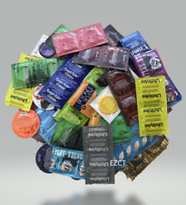 100 Lifestyles, Crown, Trustex, Atlas, NuVo, & More Condoms Variety Pack