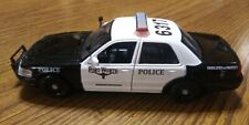 1:24 Fortworth Texas custom police car with working lights