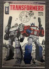 IDW Transformers #1 Metal FanExpo Megacon 2019 Exclusive Variant #162/750