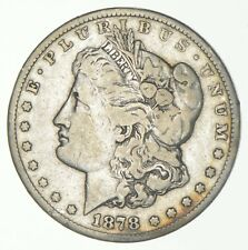 1878-CC Morgan Silver Dollar - Charles Coin Collection *035