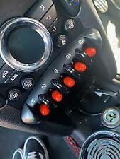 BMW Mini Cooper Toggle Switch Cover / Cap Red PVC R60 R61 R56 R58 JCW X 10 Gen2