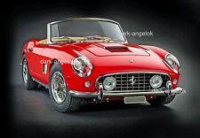 1:18 CMC m-091 Ferrari California Spyder 250 GT SWB rouge 1961, NOUVEAU & NEUF dans sa boîte, RARE
