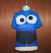 NWT Cookie Monster Cycling Jersey sz XXL Ride Bike Eat Cookie s3