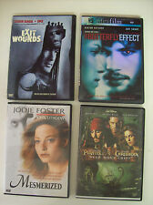 The Butterfly Effect, Mezmerized, Exit Wounds, Pirates of the Caribbean 4 DVDs
