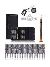 25 in 1 TORX pentalobe Screwdriver Set - Magnetic Head set tool kit mini Leather