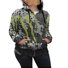 Ken Block DC Hoodie Women's Zipper Hoodie Size S | M | L | XL | XXL