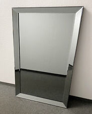 Wall Mirror Anthracite 110x80cm Mirror Frame From Colmore Mirror Glass Frame