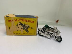 Matchbox Models of Yesteryear Y-8 Sunbeam Motor-Cycle with Milford Side Car