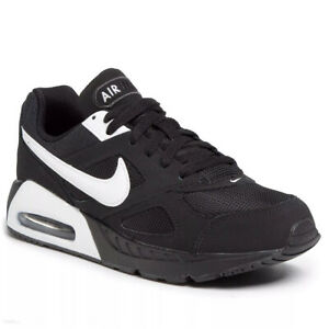 Nike Air Max Ivo Gs Boys Black White Childrens Sports Trainers 579996 011 UK 12