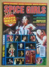 "SPICE GIRLS Original Vintage ""Hitz!"" Poster Magazine Uitgave 10 Belgian Edition"