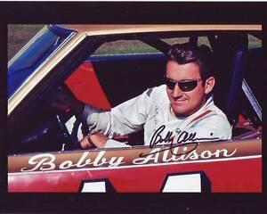 BOBBY ALLISON Signed NASCAR Photo w/ Hologram COA