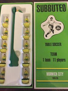 Subbuteo Legends / Leggenda Vintage Team - Norwich City 1984/85