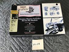 Harley-Davidson Chrome Front Master Cylinder Kit - Dual Disc 42308-04