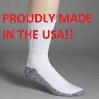 Dickies Men's Original Work Socks 4, 6, or 8 Pair Made In The USA Free Shipping