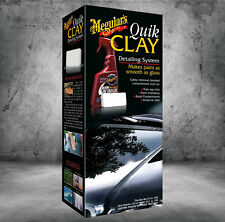 Meguiars Quik Clay Starter Kit Set Detailing System 650018 G1116EU
