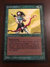 ELVISH ARCHERS Collector's Edition Magic the Gathering MTG 93/94 Old CE IE