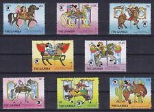 Gambia Mi-Nr. 924 - 931 **, Walt Disney - WORLD STAMP EXPO 89, Karussell (25 ME)