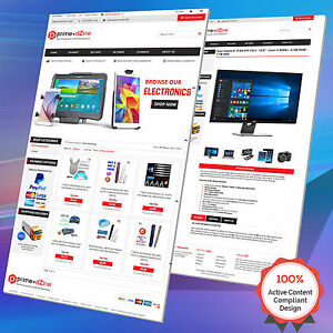 Complete eBay Shop Design & Auction Listing Template Mobile Responsive - HTTPS