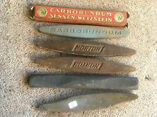 (n°1 ) outil ancien de faucheur  / lot de 5 pierre à faux .