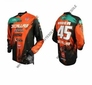 Motocross Mtb Downhill Jersey Mx Cycling Mountain Bike Dh Maillot Ciclismo