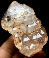 170g Natural Tibet Himalayan Elestial Lemurian Clear Quartz Crystal Healing #192