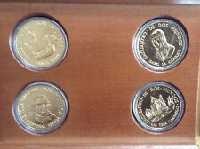 Discovery of America - Official Caravel Collection - Four 24k Gold Layered Coins
