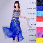 Belly Dance Sequin Halter Tribal Bra Top haut with Sequins Beads colors Bells