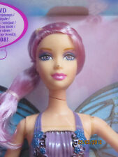 NRFB poupée doll BARBIE WILLA 2008 Mariposa Magic Wings Fairytopia L8586