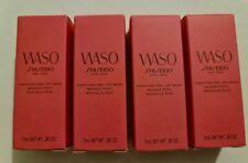 4 x Shiseido Waso Purifying Peel Off Mask 7ml each - 28ml total