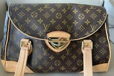 Authentic Louis Vuitton Beverly GM Satchel In Monogram Canvas