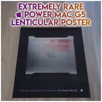  Power Mac G5 Lenticular Poster - Extremely RARE Apple Macintosh Marketing Item
