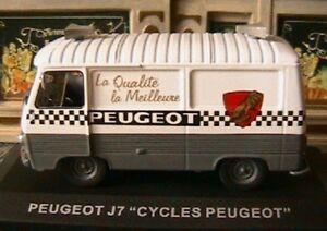 PEUGEOT J7 TOLE CYCLES PEUGEOT 1/43 TOUR DE FRANCE HINAULT 1/43 IXO ALTAYA