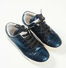 Marc Jacobs  Womens Lace Up Canvas Lace up Shoe size 36 size 6 US Metallic Blue
