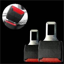 Black Car Seat Belt Plug Buckle Extension Alarm Stopper Extender Eliminator NEW